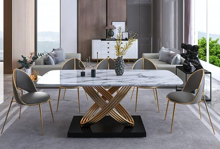 trpezarijski sto sa stolicama moderni